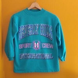 90s Vintage Beverly hills sweatshirt.